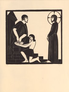 eric-gill-1928-jesus-before-pilate