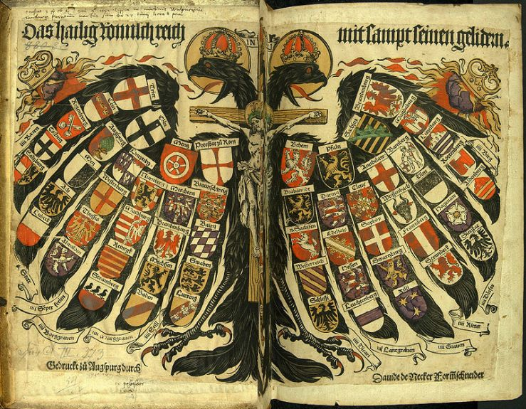 Emblem of the Holy Roman Empire, 1510