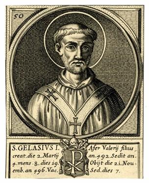 Pope St Gelasius I British Museum