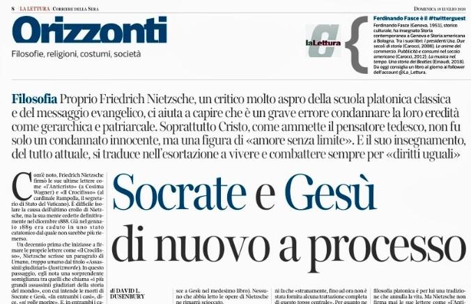 Dusenbury clip, Corriere.1